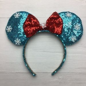 Disney Minnie Mouse Winter Wonderland Ears